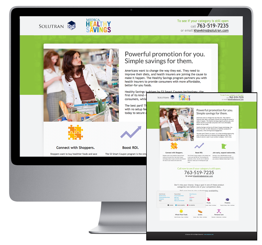 S3 Healthy Savings webpage
